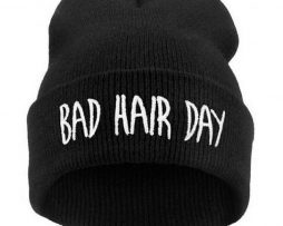 Bad Hair Day Hat - Black