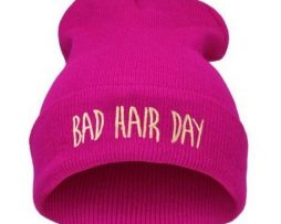 Bad Hair Day hat - pink