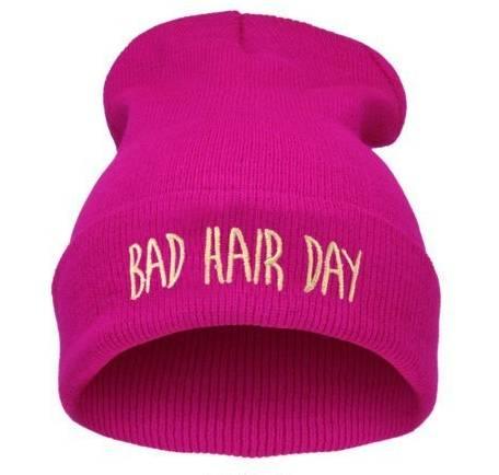 "Bad Hair Day hat - pink. "" f26f78bc9bf4"