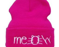 Meow Hat - Pink